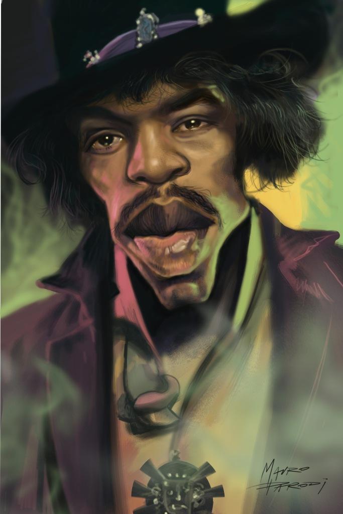 Mauro Parodi - Jimi Hendrix