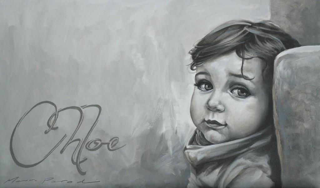 Mauro Parodi - Portrait - Óleo sobre lienzo
